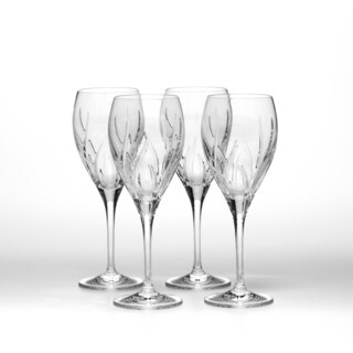Mikasa Agena Crystal 10-ounce Water Goblets (set of 4)
