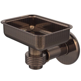Allied Brass Continental Collection Wall Mounted Soap Dish Holder With Groovy Accents