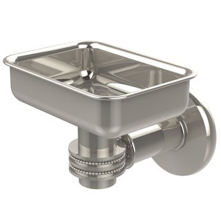 Allied Brass Continental Collection Silver Brass Wall-mounted Soap Dish Holder