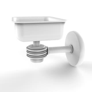Allied Brass Satellite Orbit Silver Brass Wall-mounted Soap Dish