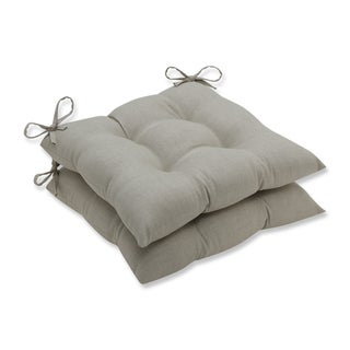 Pillow Perfect Outdoor/ Indoor Rave Driftwood Wrought Iron Seat Cushion (Set of 2)