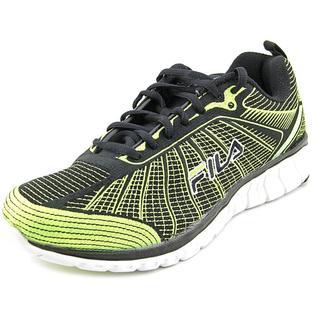 Fila Women's SpeedWeave Run II Green Textile Basic Athletic Shoes