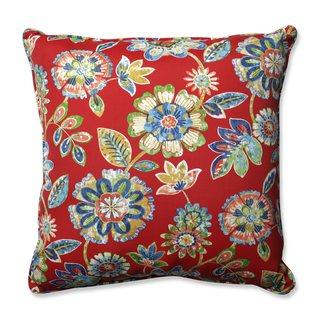Pillow Perfect Outdoor/ Indoor Daelyn Cherry 25-inch Floor Pillow