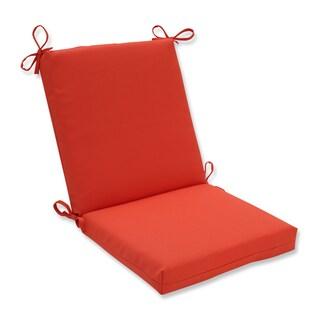 Pillow Perfect Outdoor / Indoor Splash Mango Squared Corners Chair Cushion