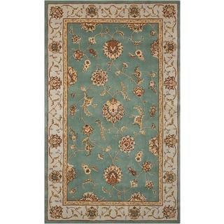 Nourison Silk Touch Light Blue Rug (7'9 x 9'9)