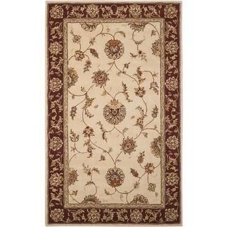 Nourison Silk Touch Beige Rug (7'9 x 9'9)