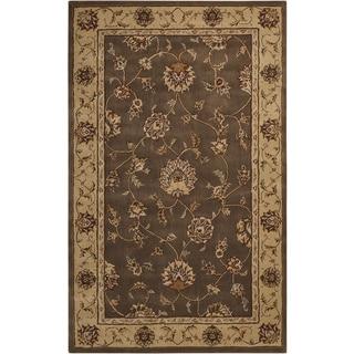 Nourison Silk Touch Mocha Rug (5' x 8')