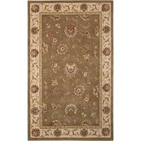 Nourison Silk Touch Light Green Rug (5' x 8')