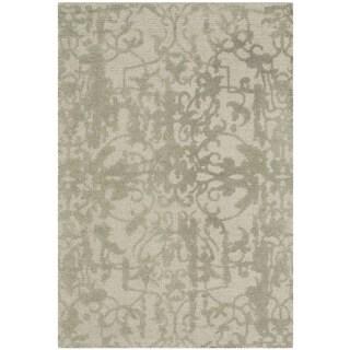Safavieh Handmade Restoration Vintage Light Sage/ Grey Wool Distressed Area Rug (3' x 5')
