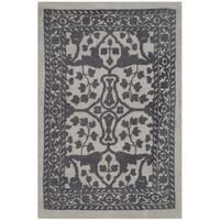 Safavieh Handmade Restoration Vintage Silver/ Grey Wool Rug - 3' x 5'