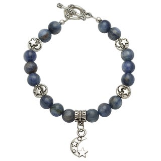 Healing Stones for You Blue Kyanite Celestial Bracelet