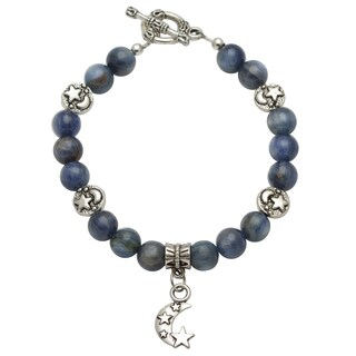 Healing Stones for You Blue Kyanite Celestial Bracelet (USA) (2 options available)