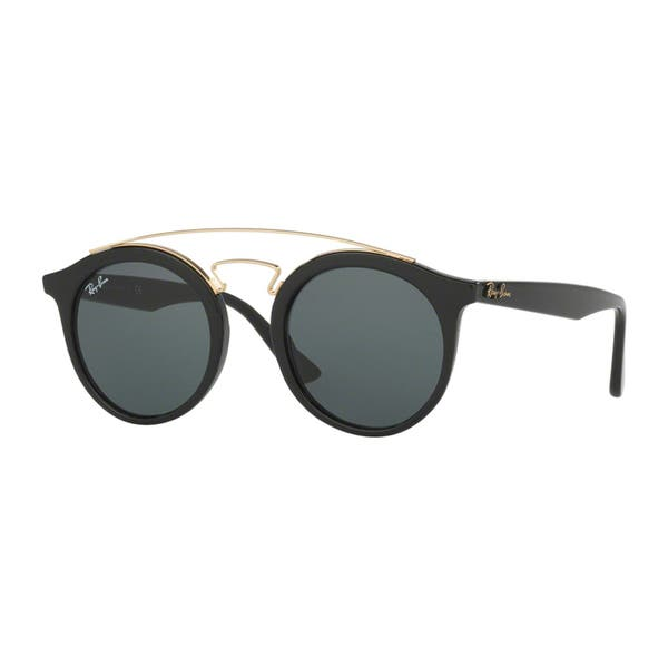 7265474471 Ray-Ban RB 4256 601 71 Gatsby I Black Plastic Fashion Sunglasses Green Lens  ...