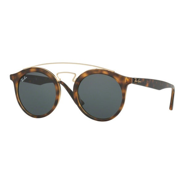 Ray-Ban RB 4256 710/71 Gatsby I Havana Plastic Green Lens Fashion Sunglasses