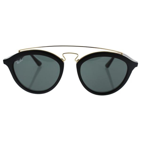 2947ad18e92 Ray-Ban RB 4257 601 71 Gatsby II Black Plastic Green Lens Fashion Sunglasses
