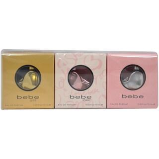 Bebe Women's 3-piece Mini Gift Set