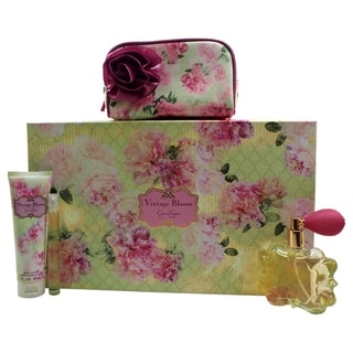 Jessica Simpson Vintage Bloom Women's 4-piece Gift Set