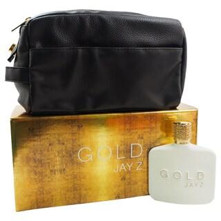 Gold Jay Z Men's 2-piece Gift Set
