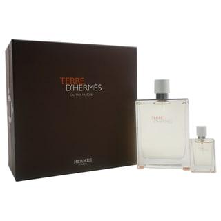 Hermes Terre D'Hermes Eau Tres Fraiche Men's 2-piece Gift Set