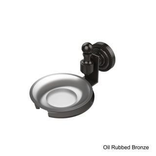 Allied Brass Retro-Dot Collection Wall-mounted Soap Dish (Rubbed/Bronze Finish)