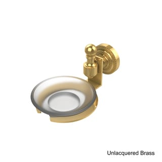 Allied Brass Retro-Dot Collection Wall-mounted Soap Dish (Brass Finish)