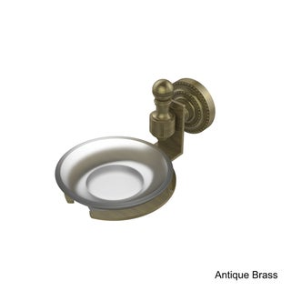 Allied Brass Retro-Dot Collection Wall-mounted Soap Dish (Antique/Brass Finish)