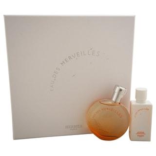 Hermes Eau Des Merveilles Women's 2-piece Gift Set