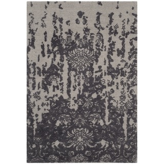 Safavieh Handmade Restoration Vintage Silver/ Grey Wool Rug (2' x 3')