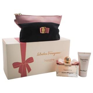 Salvatore Ferragamo Signorina Women's 3-piece Gift Set