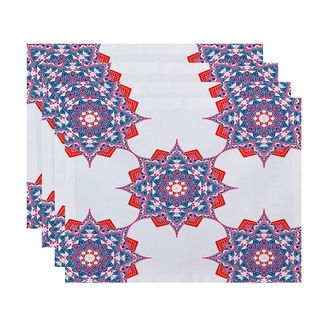 18x14-inch Rhapsody Geometric Print Placemat (Set of 4)