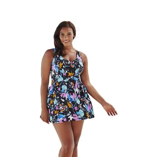 Beach Belle Belladonna V-Neck Swimdress