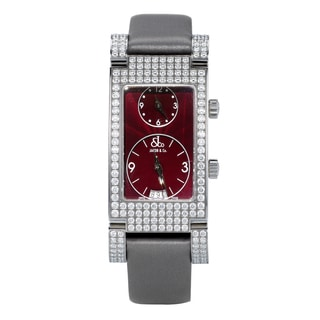 Jacob & Co JCA6 Angel Collection Two Time Zone Diamond Bezel Watch