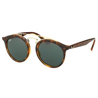 Ray-Ban Women's RB 4256 710/71 Gatsby I Havana Plastic Fashion Sunglasses with Green Lens
