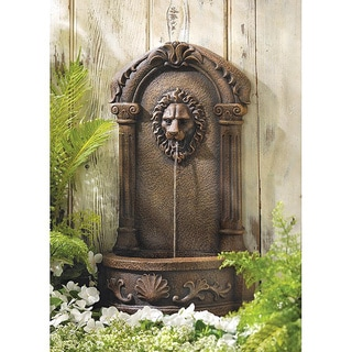 Elegant Lion Outdoor Fountain