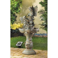 Fun Fantasy Green Ceramic Water Fountain