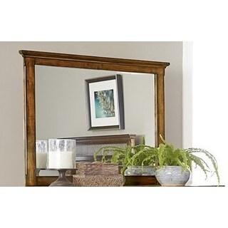 Cotswold Grove Mirror - Brown Oak