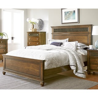 Progressive Cotswold Grove Espresso Wood/Veneer/Metal Bed