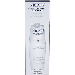 Nioxin System 2 Scalp Activating 6.8-ounce Treatment For Natural Fine Noticeably Thin Hair