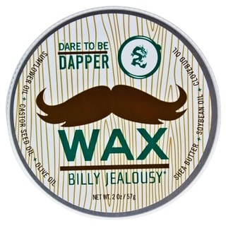 Billy Jealousy Bulletproof Dare to be Dapper Men's 2-ounce Mustache Wax