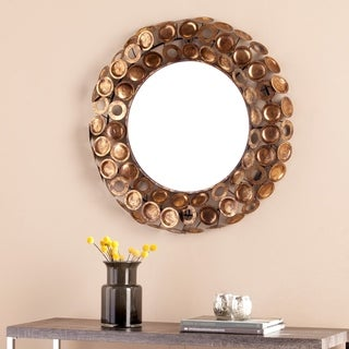 Harper Blvd Janis Round Decorative Mirror