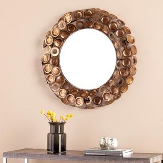 Harper Blvd Janis Round Decorative Mirror