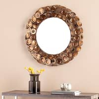 Carson Carrington Alavus Round Decorative Mirror