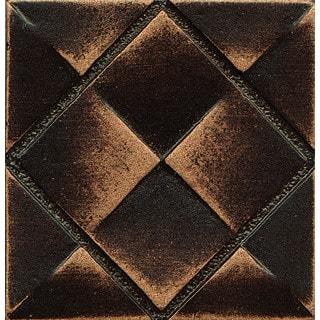 Matterix City Vene Bronze Metal Resin Tile (1 Piece)|https://ak1.ostkcdn.com/images/products/11981688/P18862889.jpg?impolicy=medium