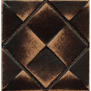 Matterix City Vene Bronze Metal Resin Tile (1 Piece)