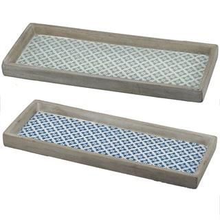 Winston Narrow Decorative Trays (Set of 2)
