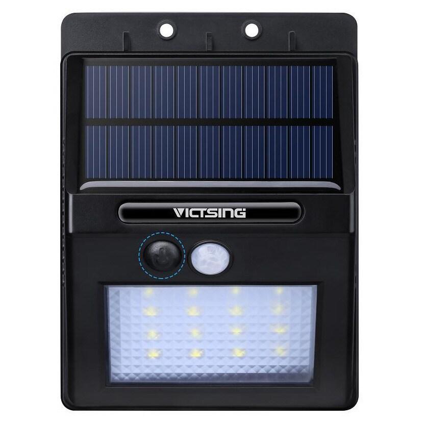 Coutlet Black ABS/ Plastic Garden Security 320-lumen 16-L...