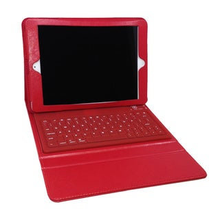Bluetooth Red Keyboard Folio for iPad Pro