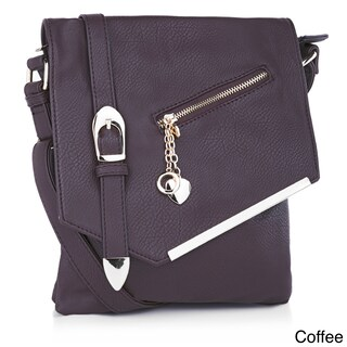 MKF Collection Jasmine Crossbody Shoulder Bag by Mia K. Farrow (4 options available)