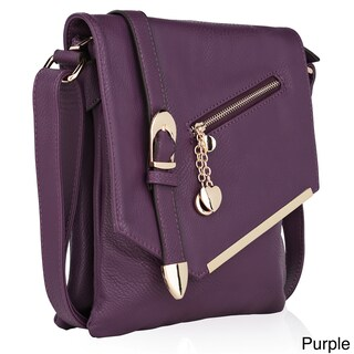 MKF Collection Jasmine Crossbody Shoulder Bag by Mia K. Farrow (4 options available)
