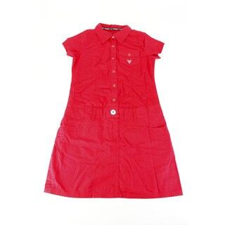 Guess Girl's Red Above-knee Dress